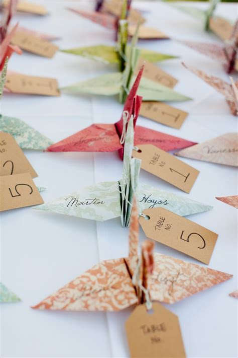 Origami Wedding Decor Ideas   Wedding Philippines