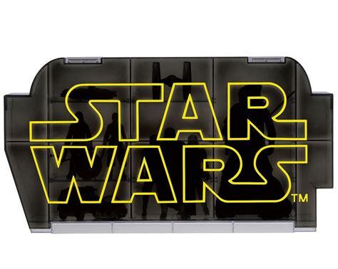 Takara Tomy Wars Logo Display Awakens Diskon takara tomy wars 原力覺醒展示盒 讓你的星戰收藏品有個家 第二彈 玩具人toy news