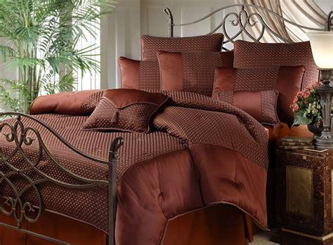 copper comforter avalon dark copper comforter set 10000247 overstock