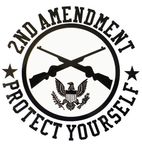 Tree Sticker Wall Decal 2nd amendment protect yourself vinyl decal arrowhead