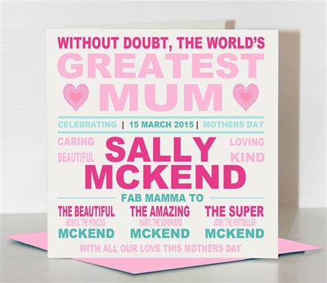 mothers day card best mum by lisa marie designs mothers day card world s greatest mum by lisa marie