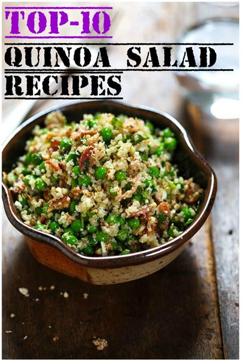 best quinoa recipes top 10 quinoa salad recipes recipeporn