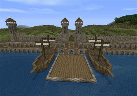 minecraft boat gate a city to be named wip screenshots show your