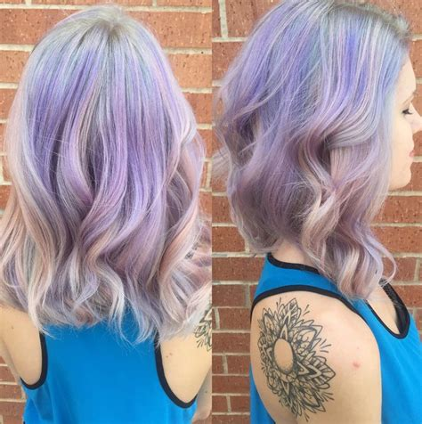 hairstyles with pastel colours 20 gorgeous pastel purple hairstyles for short long and