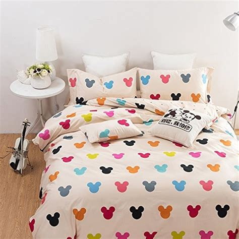 disney find vibrantly colorful mickey mouse bedding