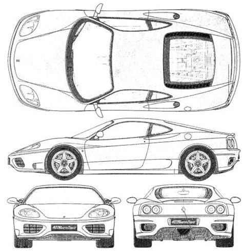 Car Design Vorlagen 360 Modena カーデザイン Cars And 360