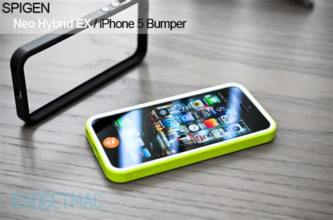 Bumper Spigen For Iphone spigen neo hybrid ex iphone 5 bumper review gadgetmac
