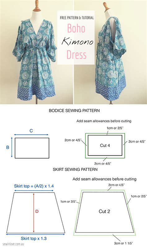 sewing pattern simple dress free sewing pattern tutorial free people inspired