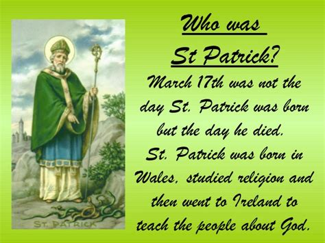 where was st born st patrick s day