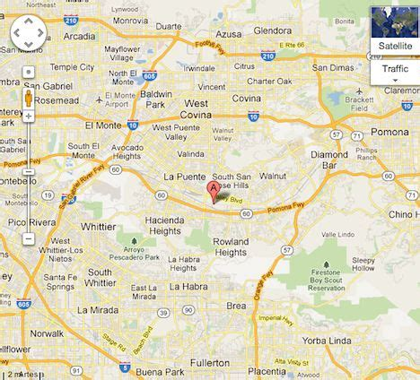 map of hte usa map hte office city of industry los angeles ca