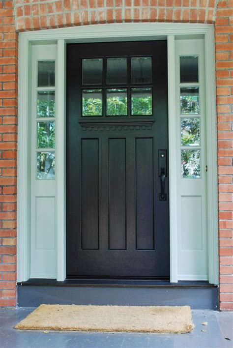 best 25 craftsman style front doors ideas on pinterest