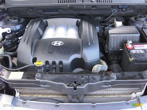 engine for 2004 hyundai santa fe 2004 hyundai santa fe gls 2 7 liter dohc 24 valve v6