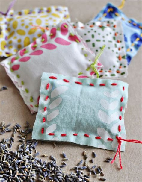 Handmade Sewing Ideas - lavender sachet diy kid sewing project easy sewing diy for
