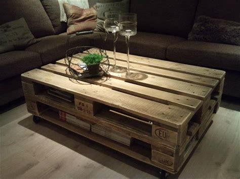 Wooden Pallet Coffee Tables Easy Way To Make Pallet Coffee Tables For Your Home Pallets Designs