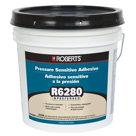 r6280 4 gal pressure sensitive carpet and vinyl