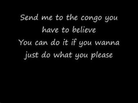 lyrics in genesis congo lyrics by genesis