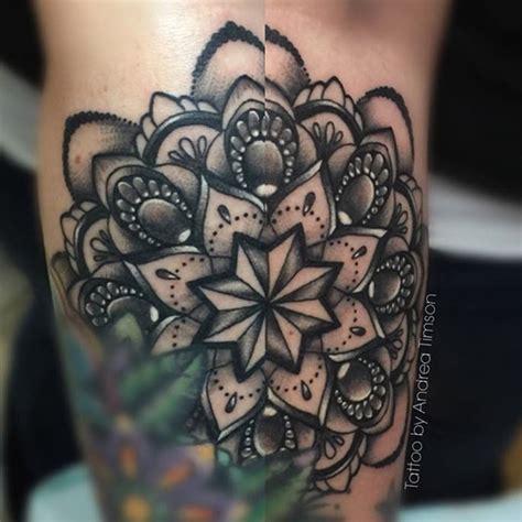 mandala tattoo artist in la andrea timson tattoo artist mandala tattoos flower
