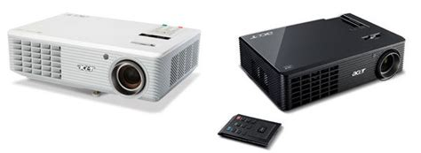 Second Proyektor Acer acer releases two new 3d ready projectors we re waiting