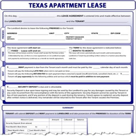 Apartment Lease Laws Lease