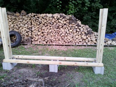 Building A Firewood Rack by Diy Firewood Rack Page 2 Firewood Hoarders Club