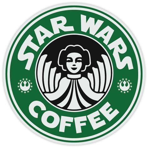 Do You Get Starbucks Stars For Buying Gift Cards - star wars princess leia coffee starbucks funny logo vinyl sticker decal ebay