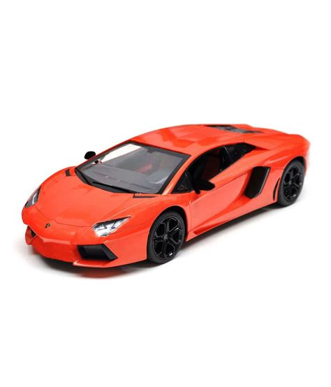 Orange Lamborghini Remote Car Shopcros Remote Rechargeable 1 18 Lamborghini