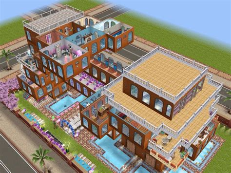 the sims freeplay part ii house balconies