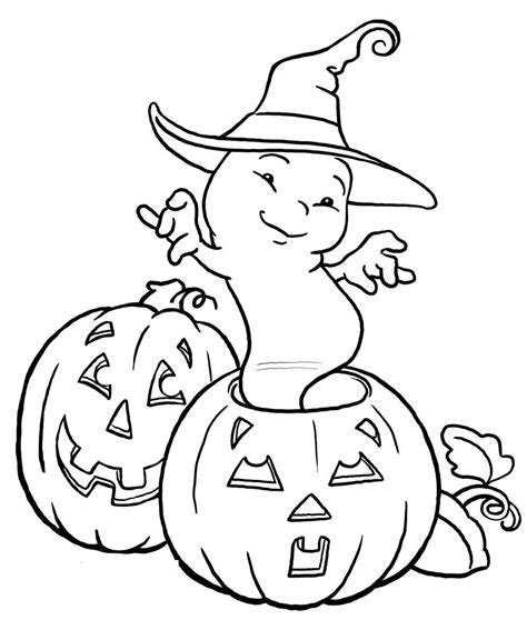 scary halloween pumpkin coloring pages for kids