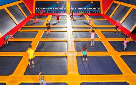 birthday party sky high trampoline park peacehaven traveller