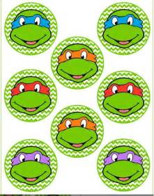 23 best images about ninja turtle cupcake toppers on