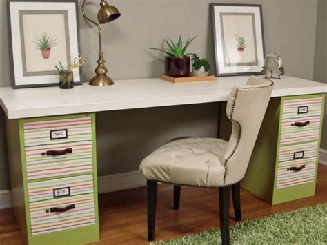 Small Home Office Hacks and Storage Ideas   DIY