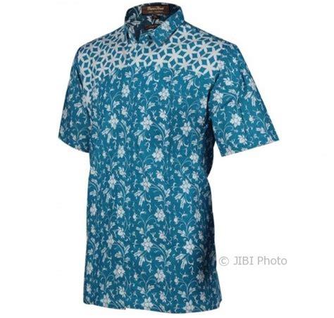 Kemeja Batik Pria Slim Fit Modern Ada Saku Depan Ls 168 Tips Fashion Model Kemeja Batik Ini Bikin Pria Makin