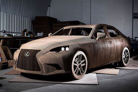 Where Are Lexus Made by The Origami Inspired Lexus The Is That S Made Out Of