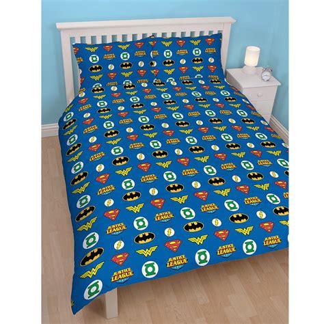 wonder woman bed sheets justice league double duvet cover superman batman wonder woman bedding ebay