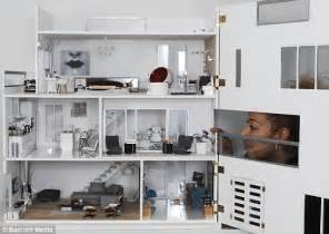 dollhouse modern pictured the immaculate modern day dolls house set to