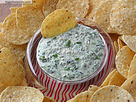 Mayo Free Cheesy Spinach Dip With Veggie Kabobs Cottage Cheese Chip Dip