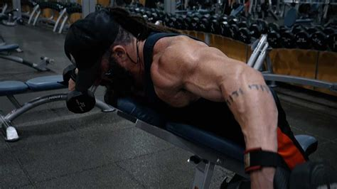 incline bench flyes bts84 day 13 new back workout tricks body spartan