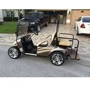 Buy Motorhome Themed Paint Job On An EZ GO TXT Or RXV Golf