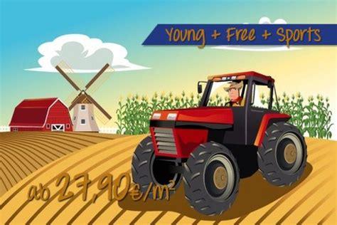 Kinderzimmer Gestalten Traktor by Roter Traktor Kinderzimmer Ideen F 252 R Kinder