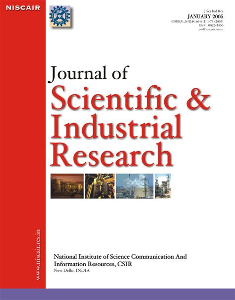 design scientific journal opinions on scientific journal