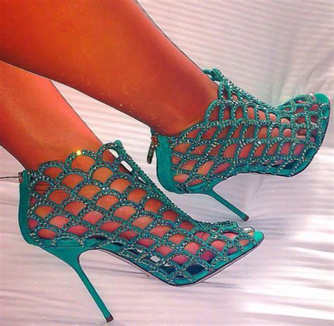 aqua high heel shoes shoes caged heels aqua high heels glitter heel shoes