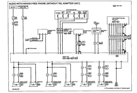 2006 nissan x trail radio wiring diagram wiring diagram