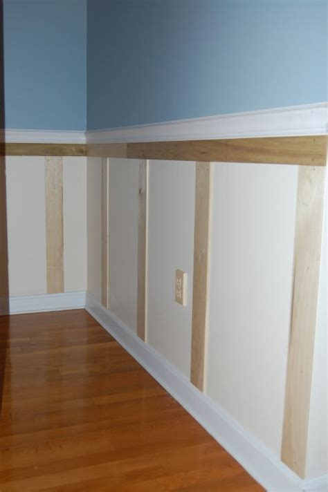 Easy Wainscoting easy wainscoting no mitering hubs home repair