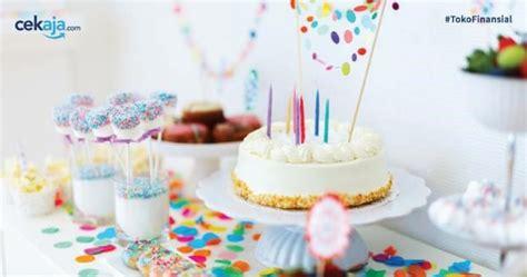 membuat bingkisan ultah anak ide dekorasi ulang tahun anak yang hemat biaya
