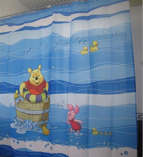 winnie the pooh shower curtain polyester winnie the pooh bath elegant shower curtain