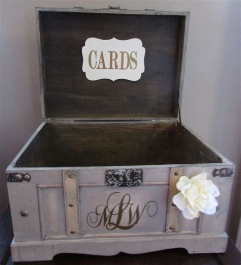 Wedding Box Diy by 18 Diy Wedding Card Boxes For Your Guests To Slip Your