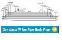 Oasis Of The Seas Floor Plan by Oasis Of The Seas Deck Plan