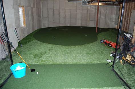 basement putting green rooms