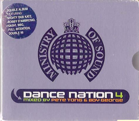ministry of sound swing pete tong boy george dance nation 4 cd at discogs