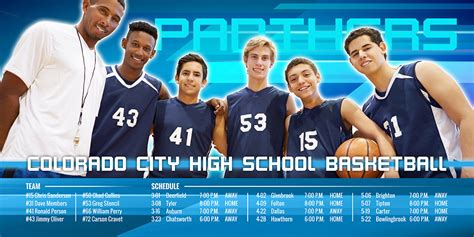sports team photography templates sports package photobacks